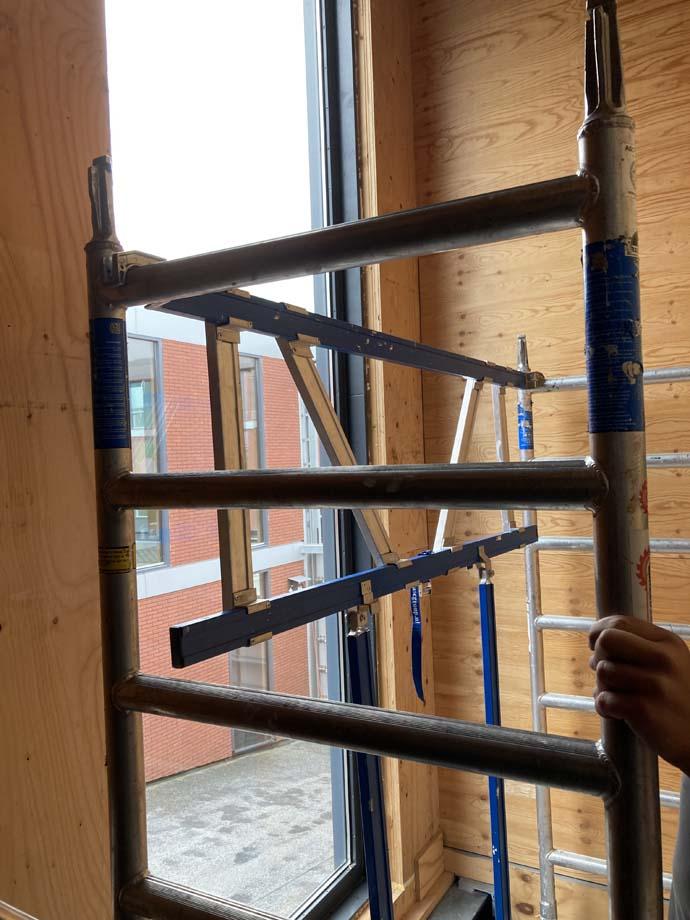 Hoe bouw je een trapsteiger, te huur in bunnik, Utrecht