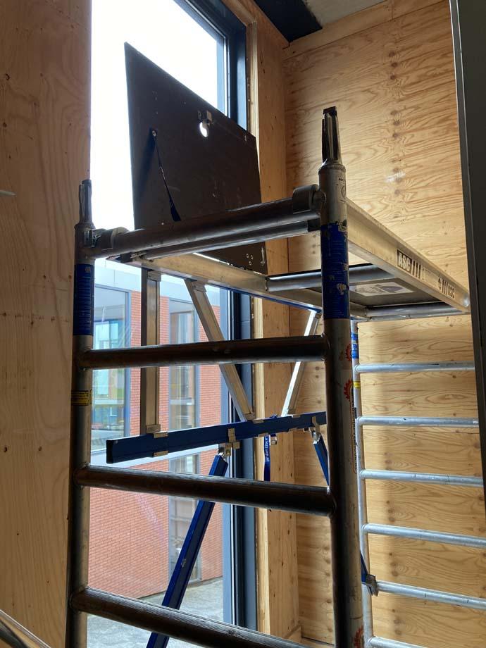 Hoe bouw je een trapgatsteiger op? Te huur in Utrecht, bunnik